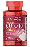 Puritan's Pride Q-SORB Co Q-10 200 mg-240 Rapid Release Softgels