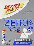 Dextro Energy Zero Calories Berry, 3 x 20 (240g)