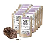 Organic Workout PALEO-BACKMISCHUNG 10er Pack – bio, gluten-frei, lower-carb, Eiweiss-Brot-Alternative, Fitness-Brot-Alternative, clean-eating, hefefrei, ohne Getreide, hergestellt in Deutschland