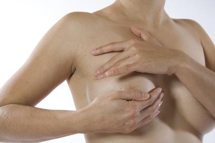 Brust-Untersuchung auf Brustkrebs