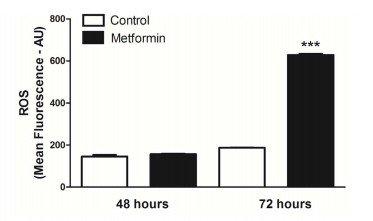 Metformin aktiviert die Bildung freier Radikale. Dies ist ein Teil der Krebs-Zerstörenden Wirkung https://www.ncbi.nlm.nih.gov/pmc/articles/PMC4032293/pdf/pone.0098207.pdf