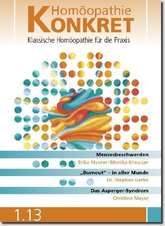 Homöopathie Konkret, Ausgabe 1/2013